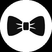 Tuxedo Bowtie